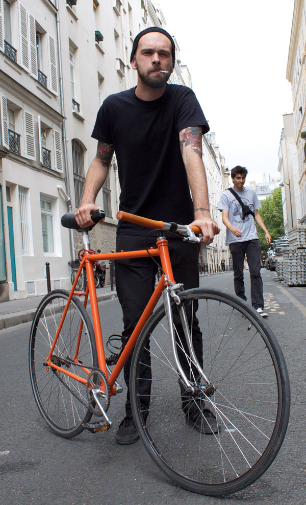 restauration fixie orange