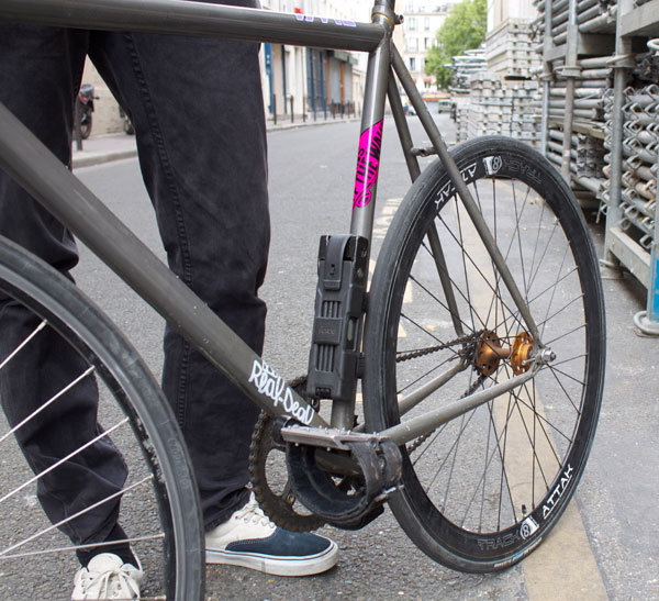 roue arriere fixie track attak