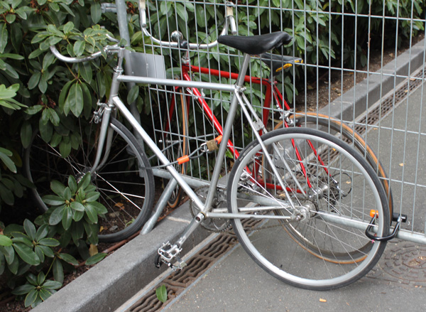 fixie gris metalis